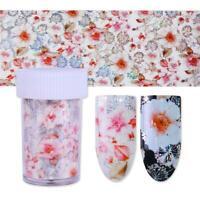 Holographische Dekalen Dekor für Maniküre Aufkleber für Nagelkunst Nagel Foil