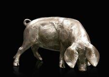 Gloucester Old Spot Pig Bronze Foundry Cast Sculpture Michael Simpson [944]