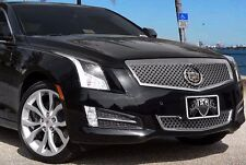 2013-2014 Cadillac ATS Classic Dual Weave Mesh 2pc Grille - E&G 1008-0104-13DR