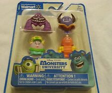 Monsters University Mini Figure Toy Art George Johnny Ms Squibbles