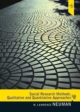 Social Research Methods : Qualitative and Quantitative Approaches by W....