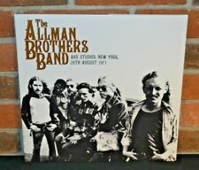 THE ALLMAN BROTHERS BAND - A&R Studios 1971, Ltd Import 2LP BLACK VINYL Gatefold