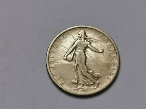 1 franc semeuse argent 1905 ! 4,92 g