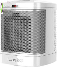 Lasko Cd08200 Small Portable  Space Heater For Bathroom And Indoor Home Use, Whi