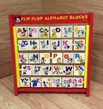 Disney Mickey Mouse Clubhouse Flip Flop Alphabet Blocks Educational Toy 2+