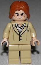Lego New Lex Luthor Tan Suit Minifigure 76046 Super Hero Dc Comics