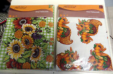 HARVEST TABLE CLOTHS TWO SIZES AND PATTERNS TO CHOOSE FROM
