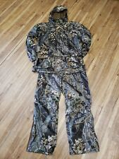 Vtg Columbia Hunting Delta Marsh Camo Hunting Coat L Tall Shooting Men Jacket