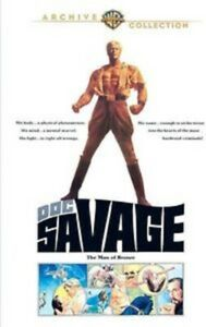 Doc Savage: The Man of Bronze - Warner Archive Collection DVD