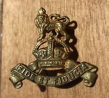 A WW1 / WW2 Royal Army Pay Corps gilt washed officers collar badge.     K