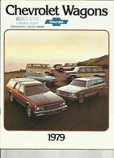 CHEVROLET carri lontano 1978 per il 1979 BROCHURE AUTO