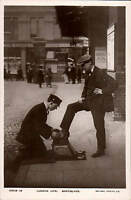 London Life. Bootblack by Rotary # 10513-15.