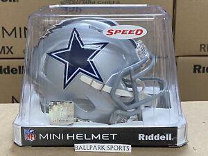 DALLAS COWBOYS - Riddell Speed Mini Helmet (NEW IN BOX)