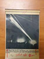 Vintage Wire Press Photo Libya Bombing Anti-aircraft Turret Military