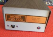 13.5v DC DESKTOP POWER SUPPLY Model POS 123Z