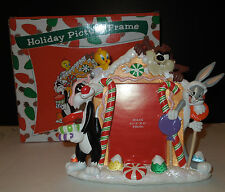 NIB WB Studio Store Exclusive Looney Tunes Holiday Picture Frame
