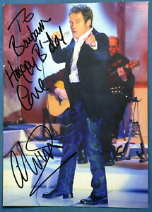 """Alvin Stardust Autograph Personalised Hand Signed Photograph Print 2005 10"""" x 7"""""""