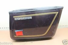 1981 HONDA GL1100 INTERSTATE (#170) RIGHT SIDE HARD CARGO LUGGAGE SADDLEBAG BAG
