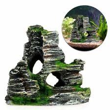 Fish Tank Rock Landscaping Ornamental Decorations Resin Rockery Style Decorative