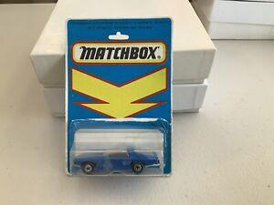 Matchbox Superfast No. 40 Vauxhall Gildsman Blue Body Bulgarian Base And Blister