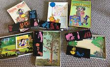 1960's Vintage-SNOW WHITE, JUNGLE BOOK, POOH DISNEY Cartoon Kit- Colorforms Toy