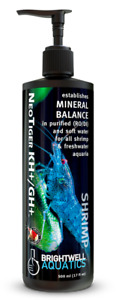 Brightwell Aquatics Shrimp NeoTiger GH/KH+ Mineral Trace Element Shrimp Tank