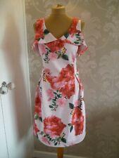 Dorothy PERKINS Estampado Floral Ocasión Vestido talla 14-Bnwt