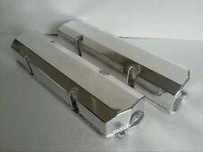 HOLDEN 253 308 V8 fabricated alloy valve rocker covers NO HOLES drag race car.