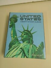 Vintage United States Harris Liberty Stamp Album to 1976 with 279 Stamps