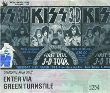 KISS 1999 3-D PSYCHO CIRCUS TOUR CONCERT TICKET STUB WEMBLEY ARENA