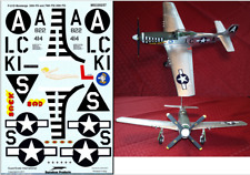 Super Scale 1/32 P-51 Mustang Decal  Revell Trumpeter Hasegawa Academy Tamiya