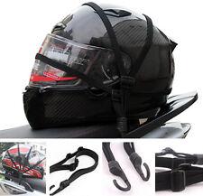 Strength Retractable Helmet Luggage Elastic Rope Strap With Hooks Motorcycle