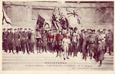 ANGLETERRE P. Carrier-Belleuse -PANTHEON DE LA GUERRE- A. F. Gorguet cpyrt 1918