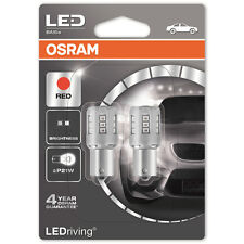 OSRAM LEDriving STANDARD Retrofit 382 P21W 12V 2.5W Red Bulbs Rear Brake Tail
