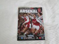 Arsenal v Liverpool 15/7/20 official programme.