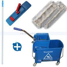 Reinigungswagen im Set Clean Track Mini Bucket 17 L im SET Bodenwischer Set