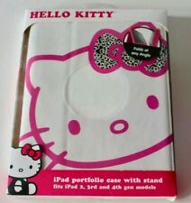 Hello Kitty Universal Portfolio Case with stand for Apple iPad 2, 3 and 4