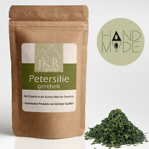 250g | Petersilie | gerebelt | Gewürz | feinste Kräuter | 100% rein | JKR Spices