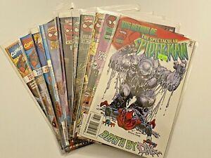 Peter Parker Spectacular Spider-man 230-252 NM- [Marvel 1996] 12 assorted
