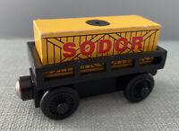 Thomas & Friends Wooden Train Track SODOR CARGO with CARGO CAR For Cranky Crane