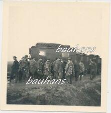 Foto Polonia-Zamosc-CARRELLO RADIO-Soldati-Tarn-Camo 2.wk (a922)