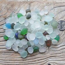 Beautiful Mixed Small Seaglass (tumbled) 100g - art materials - Imogen's Beach