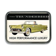1955 Ford Thunderbird Vintage Rockabilly Retro Belt Buckle Gürtel Gürtelschnalle