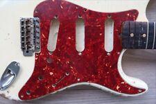 '54-58 Fender Stratocaster Pickguard Nitrate Strat Tortoise Celluloid 8 hole USA