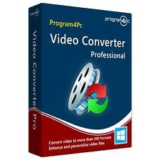 Program4PC Video Converter Pro,Convert mp4 avi wmv mkv mpg mov flv 3gp vob mts