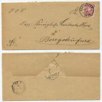 41442 - Mi.Nr. 41 - Beleg - Borghorst 16.10.1881 nach Burgsteinfurt