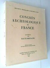 29223 Congrès archeologique de France Haute-Bretagne 1968 CNRS Architecture