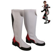 Avengers Endgame Quantum Realm Black Widow Cosplay Shoes Women Boots