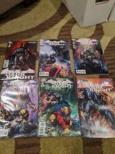 Batman the Dark Knight 2011 Finch #1-5 and #1 new 52 | 6 comic lot