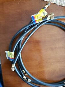 Yellow jacket refrigerant hoses (3) new never used 15072